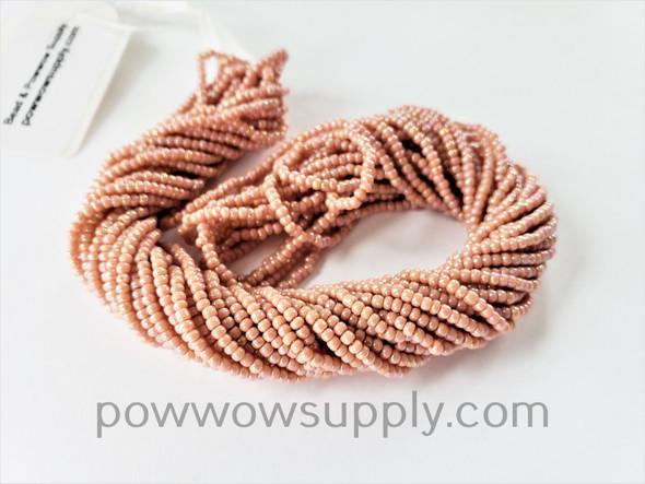 11/0 Seed Beads Opaque AB Cheyenne Pink