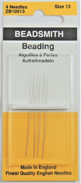 Size 13 Beading Needles (4 pack)