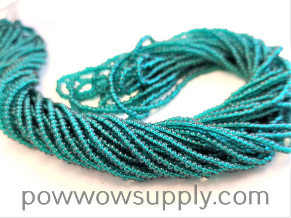12/0 Seed Beads Transparent Emerald