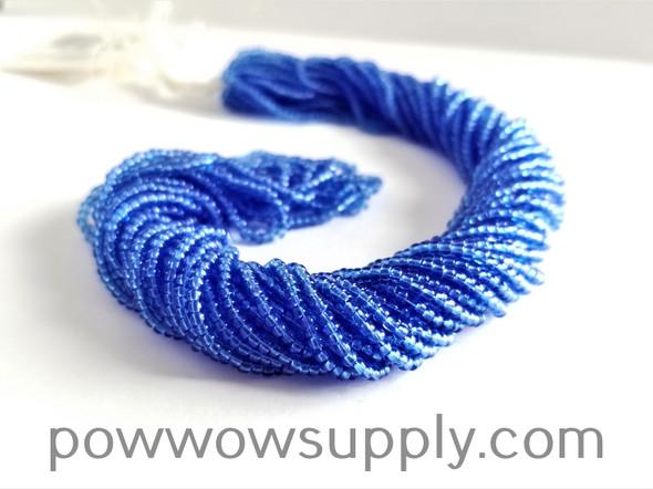 12/0 Seed Beads Transparent Sapphire