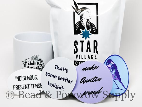 Coffee, Mug, & Sticker Bundle