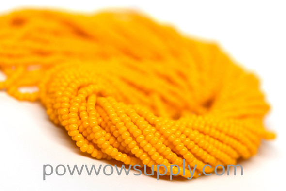 13/0 Seed Beads Opaque Light Orange
