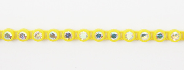 Czech SS8 Yellow-Crystal AB