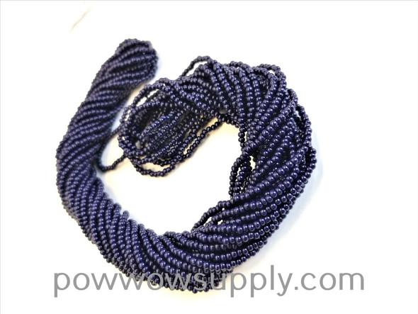 11/0 Seed Beads Opaque Dark Navy