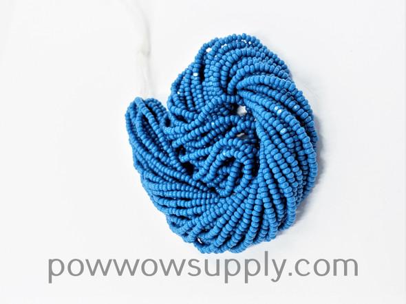 13/0 Charlottes Opaque Slate Blue