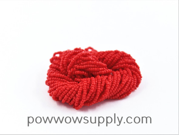15/0 Charlottes Opaque Light Red