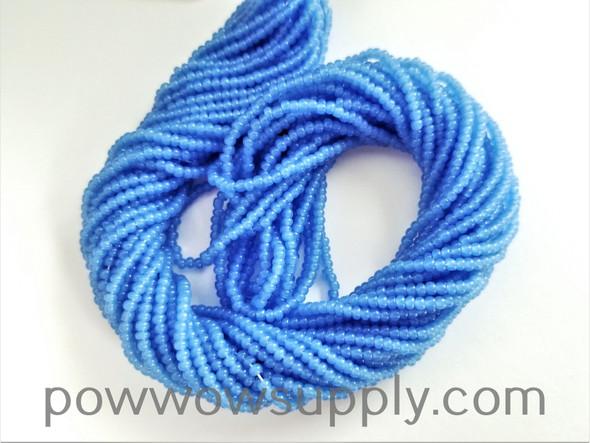 11/0 Seed Beads Opal Blue