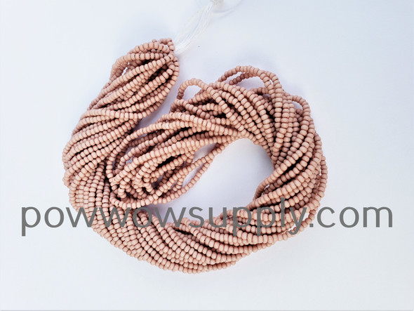 11/0 Seed Beads Opaque Matte Cheyenne Pink
