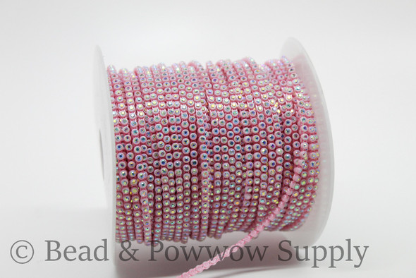 Chinese SS6 Light Pink/Crystal AB