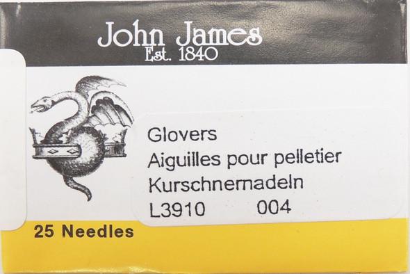 Size 4 Glovers Needles (25 pc)