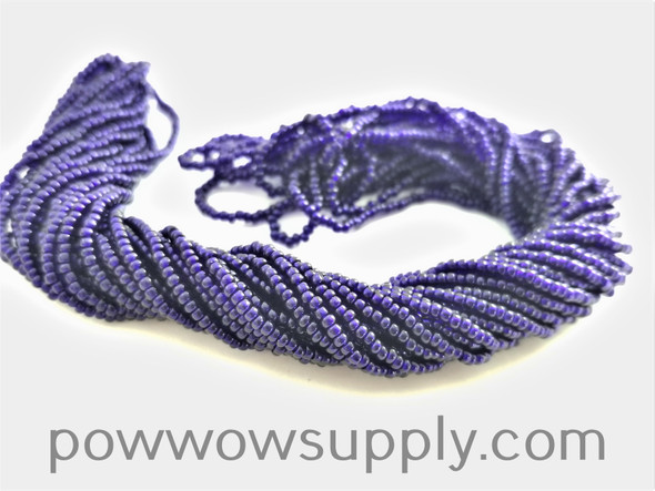 12/0 Seed Beads Transparent Deep Cobalt