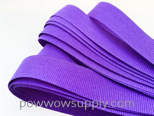 "3/4"" Grosgrain Purple (5 yards)"