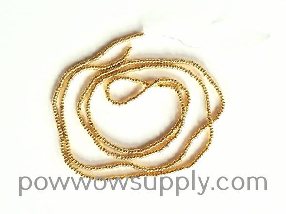 13/0 Charlottes Metallic 24k Gold Plated (single strand)