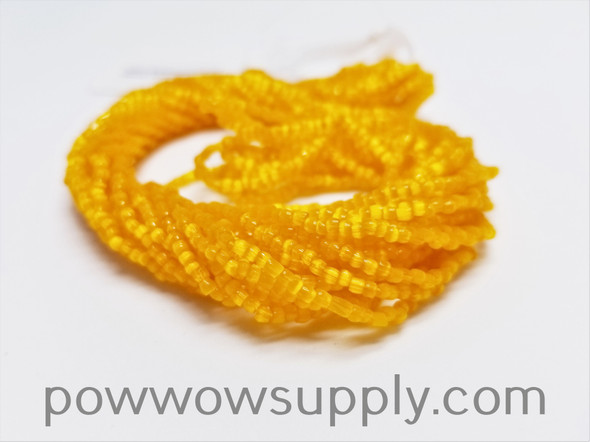 12/0 3-cuts Satin Orange