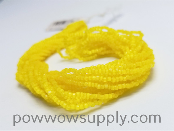 12/0 3-cuts Satin Yellow