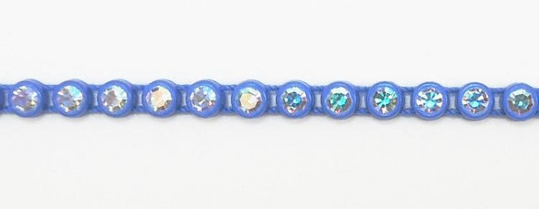 Czech SS13 Royal Blue-Crystal AB