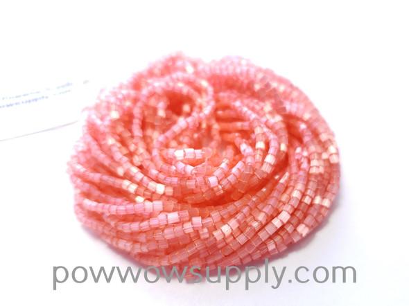 11/0 2-cuts Satin Pink Rose