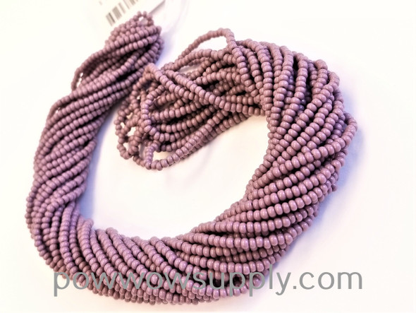 13/0 Seed Beads Opaque Amethyst