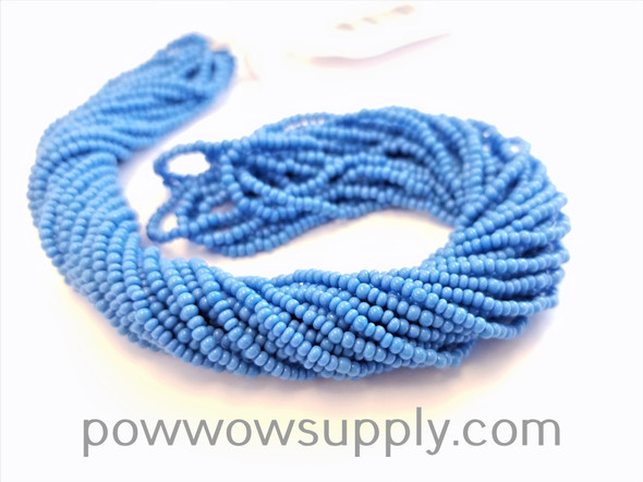 11/0 Seed Beads Opaque Deep Turquoise Blue