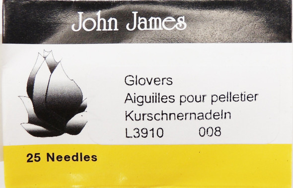 Size 8 Glovers Needles (25 pc)