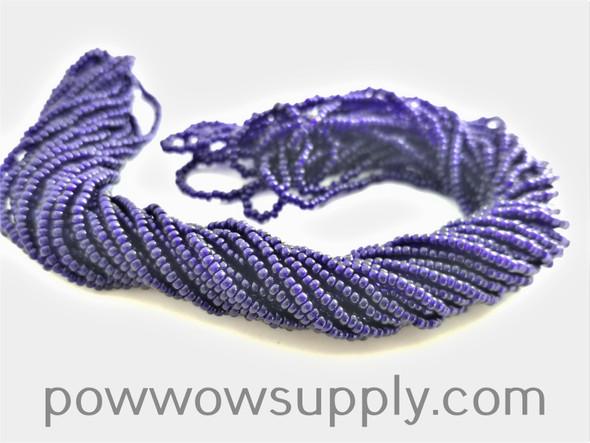 11/0 Seed Beads Transparent Deep Cobalt