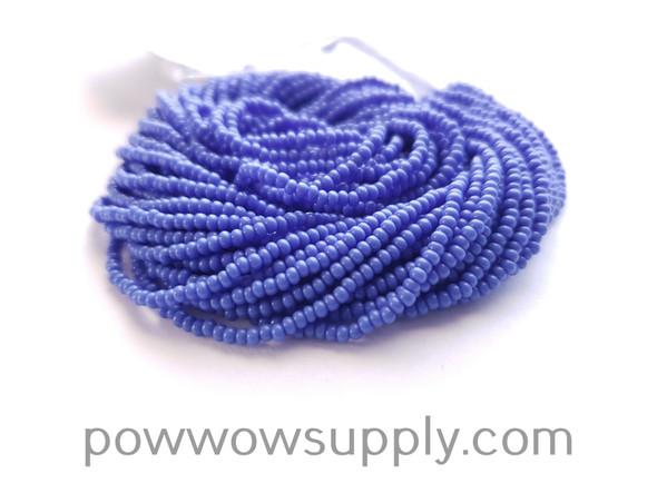 10/0 Seed Beads Opaque Light Blue