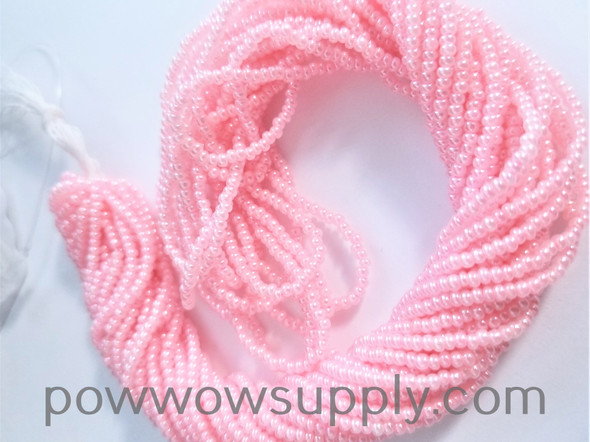 11/0 Seed Beads Pearl Light Pink
