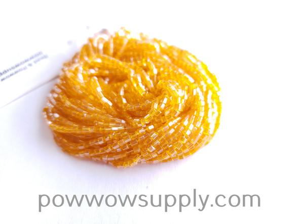 11/0 2-cuts Transparent Luster Light Orange
