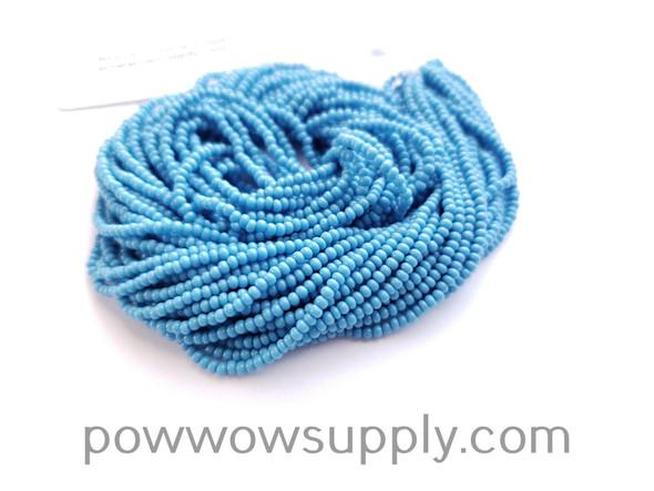 13/0 Seed Beads Opaque Sky Blue