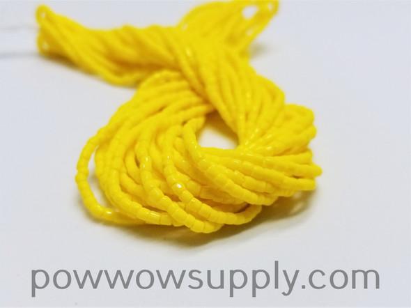 9/0 3-cuts Opaque Lemon Yellow