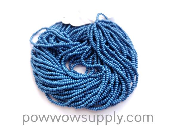 13/0 Seed Beads Opaque Slate Blue
