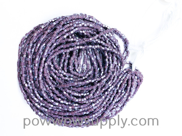 11/0 2-cuts Opaque Luster Light Amethyst (previously listed as amethyst)