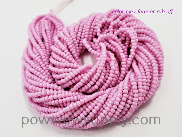 11/0 Seed Beads Opaque Lilac (tint)