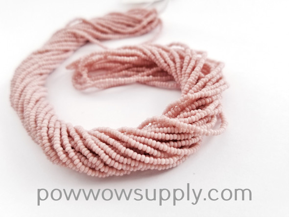 12/0 Seed Beads Opaque Cheyenne Pink