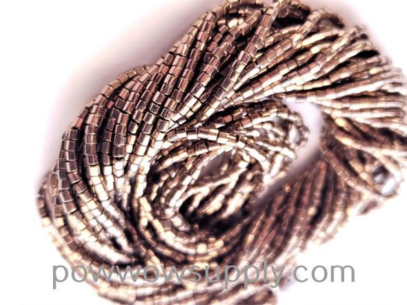 11/0 2-cuts Metallic Bronze
