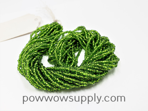 10/0 Seed Beads Silver Lined Lime