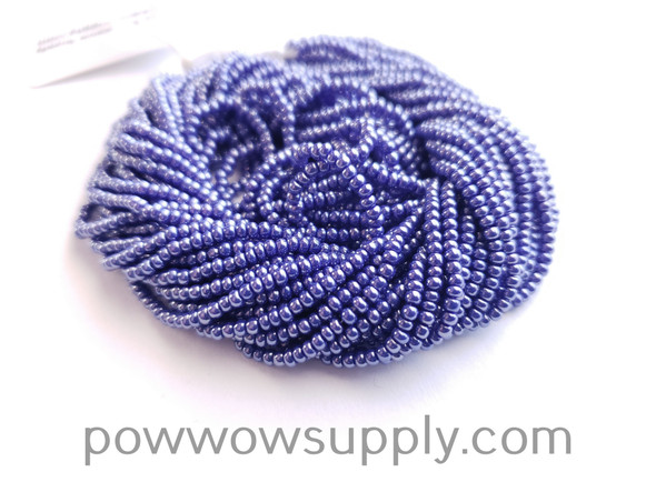11/0 Seed Beads Opaque Luster Dark Blue