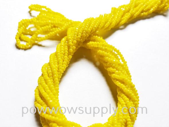 13/0 Charlottes Lemon Yellow (Long Hanks) (Beader's Paradise Stock)