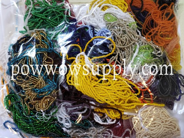 10/0 Seed Beads Partial Hank Kilo Bag