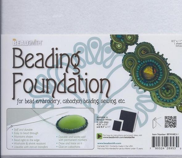 Beading Foundation 8.5x11 White