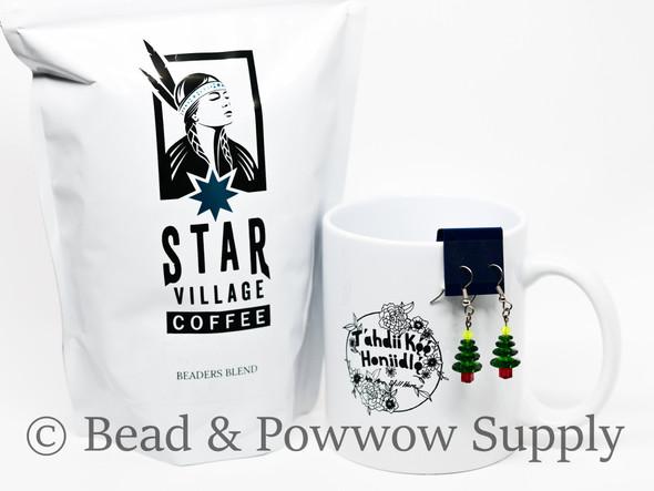 Coffee, Mug, & Christmas Tree Earring Bundle