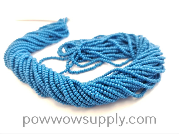 10/0 Seed Beads Opaque Teal Blue