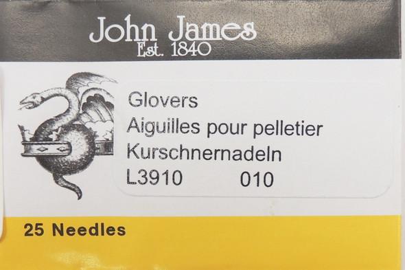 Size 10 Glovers Needles (25 pc)