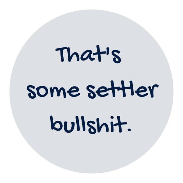 That's Some Settler Bullshit Sticker
