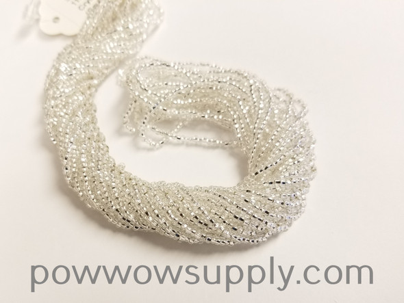 10/0 Seed Beads Silver Lined Crystal
