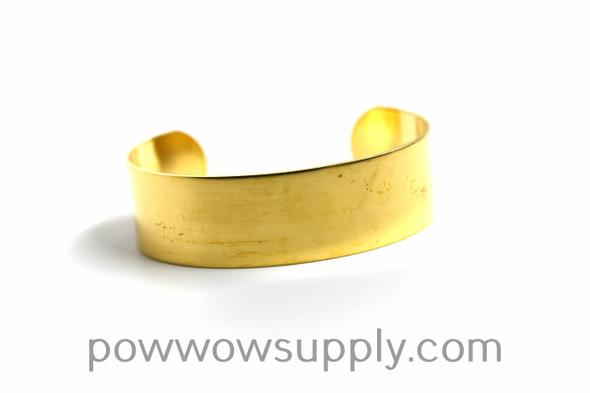 """3/4"""" Raw Brass Cuff"""