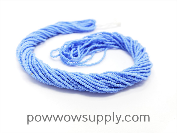16/0 Seed Beads Opaque Dark Periwinkle