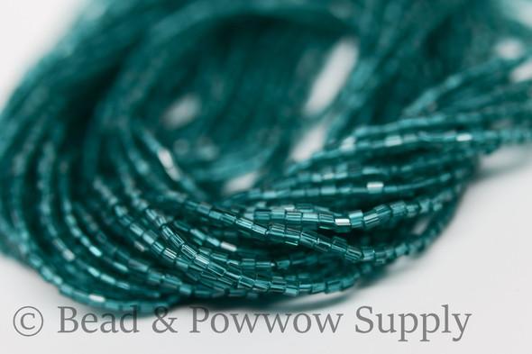 11/0 2-cuts Transparent Emerald