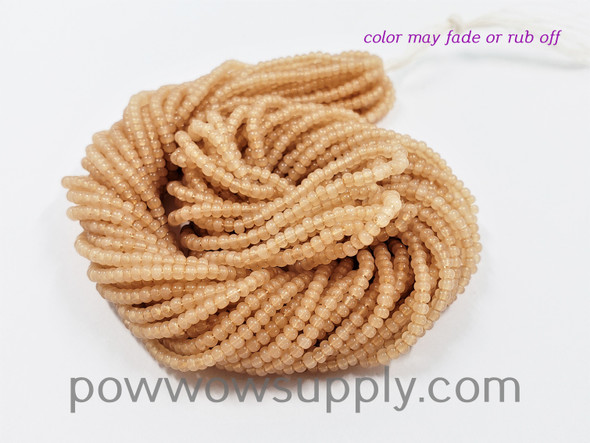 11/0 Seed Beads Opal Latte (tint)