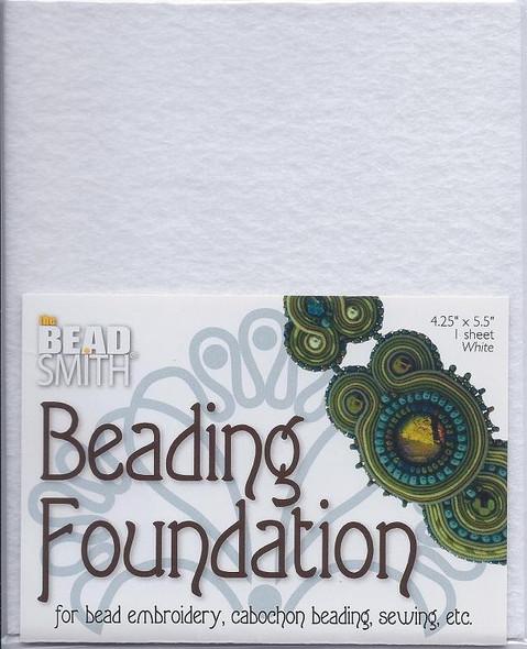 Beading Foundation 4.25x5.5 White